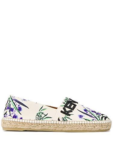 Kenzo Luxury Fashion Damen FA52ES170F7203 Beige Stoff Espadrilles | Frühling Sommer 20