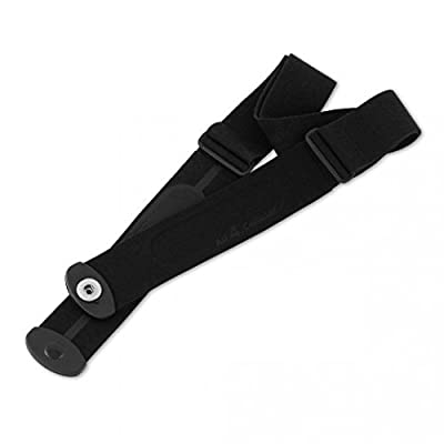 Heart Rate Monitor Chest Strap Replacement w/Button Style fastemers Works with Most Common Heart Rate Monitors