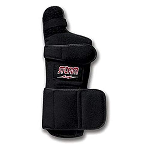 Storm Xtra-Hook Right Hand Wrist Support, Black, Large