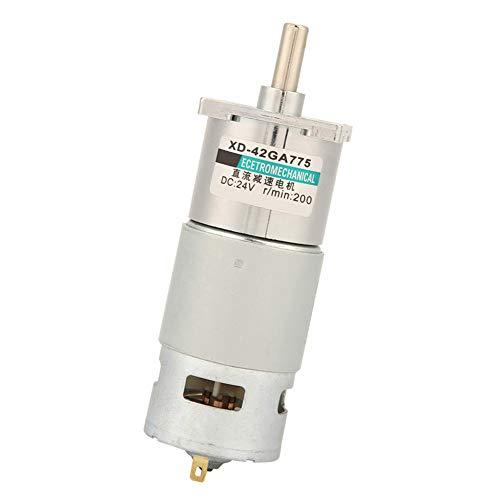 Motor De Engranajes De CC, Motor De Engranajes De 12 V / 24 V De Alta Potencia Para Amoladoras Eléctricas(24 V, 200 rpm)