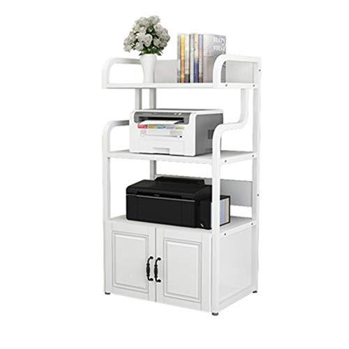 Estante de Almacenamiento de Impresora Impresora de oficina Estantería de estantería Mesa de cuaderno de cola de almacenamiento EUROPEO DE ESTILO EUROPEO CON PUERTAMENTO PISO DE ALMACENAMIENTO MULTI-C