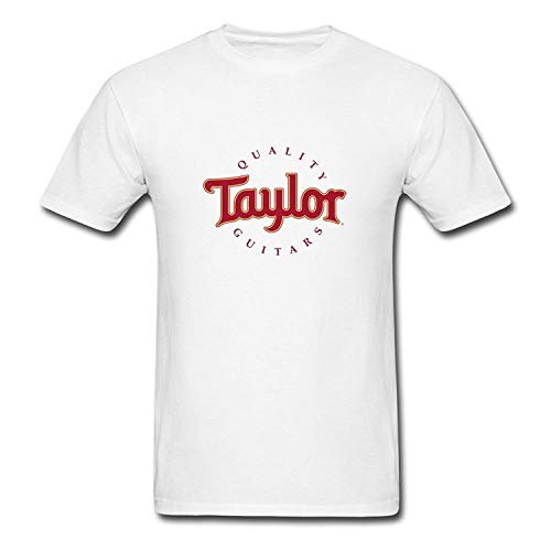 Shakegrass Men's Fashion Taylor Quality Guitars T-Shirts Funny Xmas Tee White
