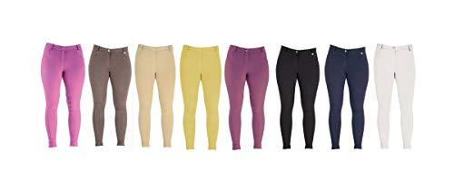 Pantalones de montar para mujer Beige 24 HyPERFORMANCE Melton traje de neopreno para mujer