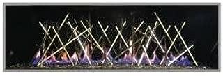 Napoleon LDNS Fireplace Designer Fire Art Stix for Vector Series - Nickel Plated
