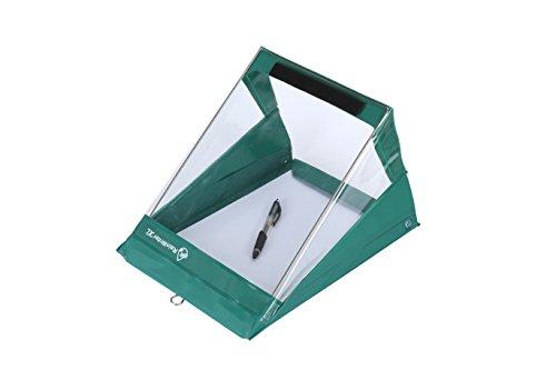 RainWriter Letter Portrait Waterproof Clipboard - New low temp heavy duty vinyl - 24 month warranty (Green)