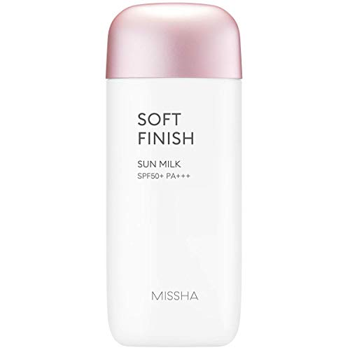 All Around Safe Block Soft Finish Sun Milk SPF50+/PA+++ 70ml - more mild and powerful sun milk that is good for daily use without leaving any oily residue
