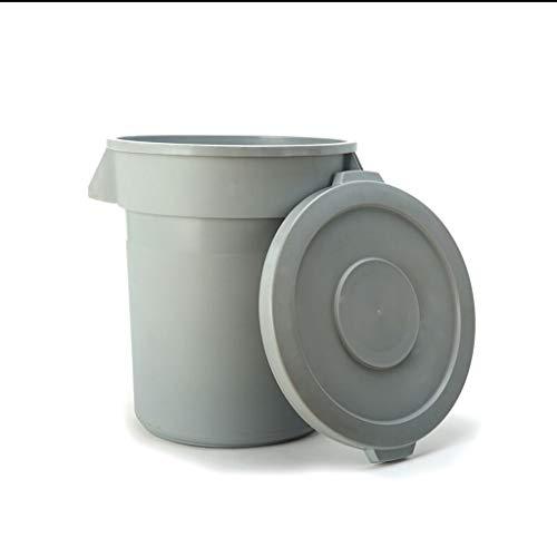 ZXC Home Afvalemmer voor thuis, woonkamer, keuken, badkamer, yard, vuilnisbak, plastic, grote capaciteit met deksel ontwerp