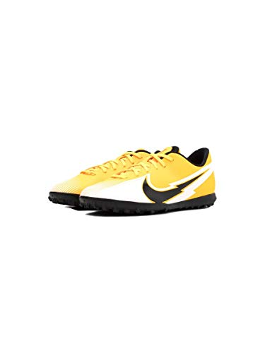 Nike, Botas de fútbol Unisex Adulto, Laser Orange Black White L, 46 EU