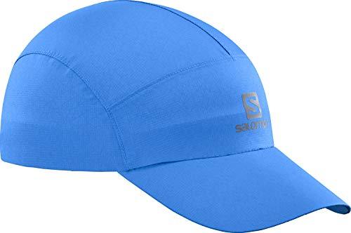 Salomon Gorra impermeable, Unisex, WATERPROOF CAP, Protección UV, Azul (Indigo Bunting), Talla única, LC1405200