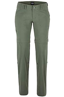 Marmot Women's Lobo's Convertible Pant, Crocodile, Size 12