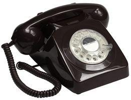 GPO 746 Teléfono Fijo de Disco con Estilo Retro de los añ