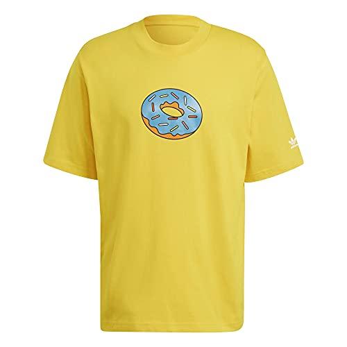 adidas Camiseta D´OH Simpsons amarillo L