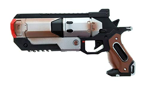 Foam Toy APEX Legends High Density Wingman Revolver Foam Gun Custom Props Replica. for Cosplay, LARP, Holloween and Collection Red/White