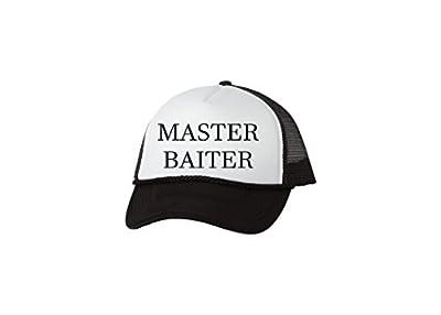 Rogue River Tactical Funny Fishing Trucker Hat Master Baiter Baseball Cap Retro Vintage Joke Fish
