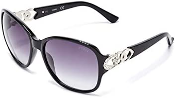 GUESS Factory Women s Oversized Chain Trim Sunglasses product image