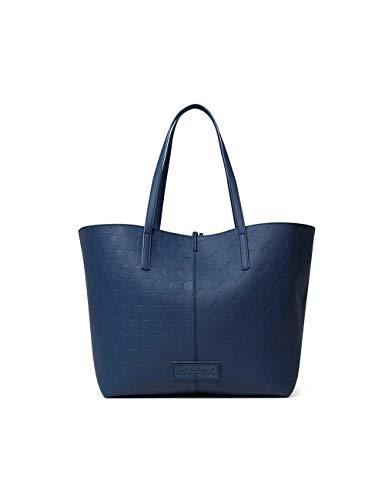 Desigual Shopping Bag, Blue