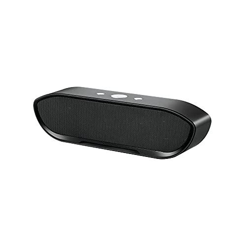 Altavoz Bluetooth inalámbrico portátil mini subwoofer portátil de dos canales soporte de audio TF AUX-4