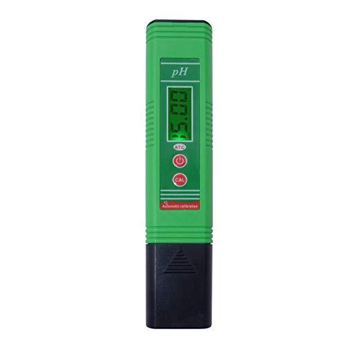 ADSE Humedad portátil, medidor de PH Tipo bolígrafo científico portátil PH-006 con compensación automática de Temperatura Herramienta portátil de análisis de Calidad del Agua