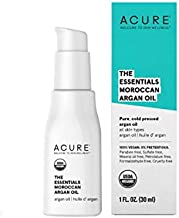 ACURE 100% USDA Organic Moroccan Argan Oil (Pack of 3)