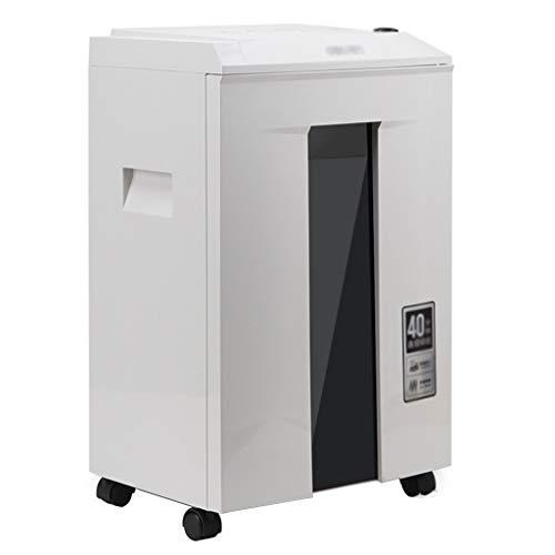 Great Deal! Shredder Household Mobile Business Mute Confidential Document Office 20L Capacity (Color...