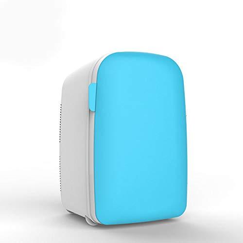 Kühlschrank Auto Tragbar Kühlschrank,Mini Eisfach,Familienauto Dual Use Kühlschrank,Passen Reise Camping Gefrierschrank Geräuscharm/Blau / 20L
