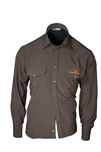 Hubertus Amazonas Funktionshemd dunkeloliv Jagdhemd Jagdshirt (XXL)