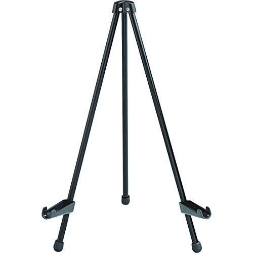 """Quartet Easel, Tabletop Instant, 14"""" High, Supports up to 5 lbs., Portable & Collapsible, Black (28E)"""