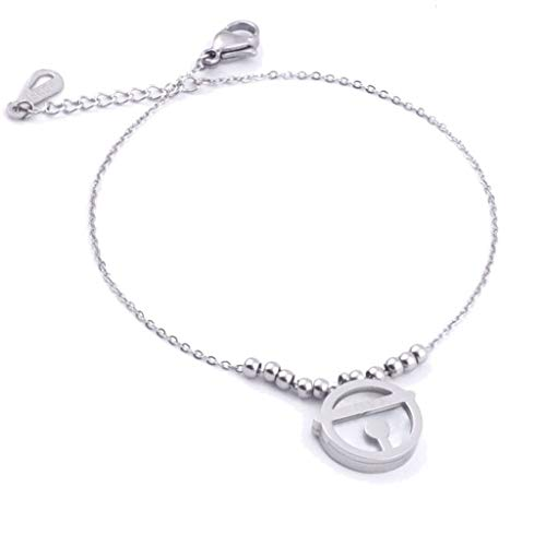 MXH armband dames titanium staal rose goud kleur goud armband liefde paar sieraden modesieraad, staal
