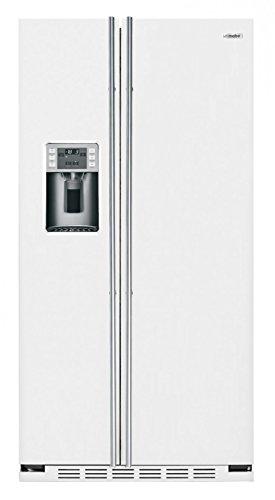 iomabe ORE 24 CGF 8 W Side-by-Side Kühlschrank, integriert/freistehend, Weiß, 572 l, A+ - Side-by-Side Kühlschrank (integriert/freistehend, weiß, amerikanische Tür, LED, Tür zu Tür, Glas.
