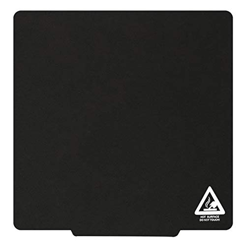 Aibecy Magnetic Plate, Build Surface Plate Sticker Pad Ultra-Flexible Removable 310x310mm Compatible with Tronxy 310mm 3D Printer Hotbed Heated Bed