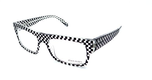 Brillen Alain Mikli FASCINATION 0A01344M BLACK WHITE Damenbrillen