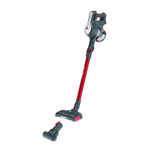 Hoover H-FREE 100 HF122GPT Scopa ricaricabile senza fili, HOME & PETS, Rosso