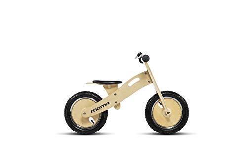 Moma Bikes bicicleta sin pedales de madera 1