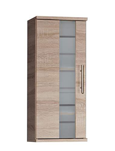 Schildmeyer Hängeschrank 147310 Nitro, Sonoma Eiche Dekor, 30.3 x 20,5 x 70.8 cm