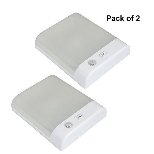 Preisvergleich Produktbild Facon 12 V LED PIR Sensor Deckenwand Dome Licht Innenbeleuchtung Mit Auf / Ab Dimmer für Camper RV Auto Camper Anhänger