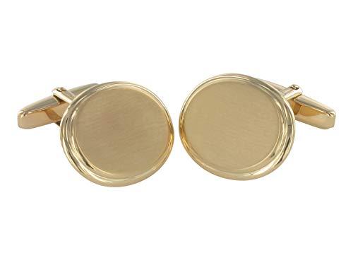 Grom Manschettenknöpfe 585er Gold