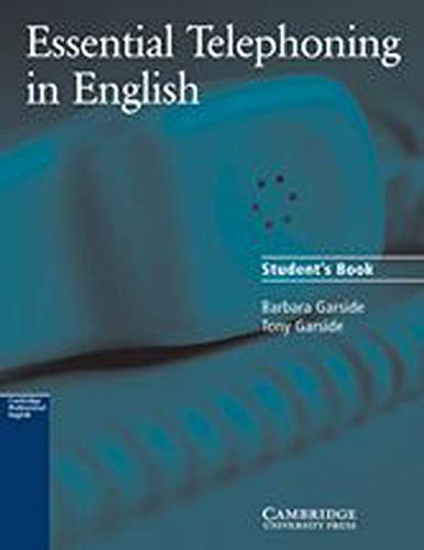 Essential Telephoning in English, Student's Book