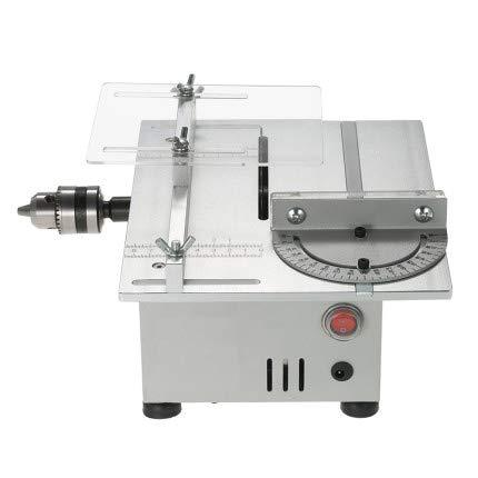 SHIJING Kleine Tischsägen Elektro-Kettensäge DIY manuelle Schleifmaschine Zyklus Muti Funktionsmaschine Holzbearbeitung
