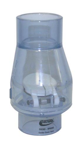 Valterra Clapet anti-retour 200-C15 - En PVC - Transparent, 3,8 cm