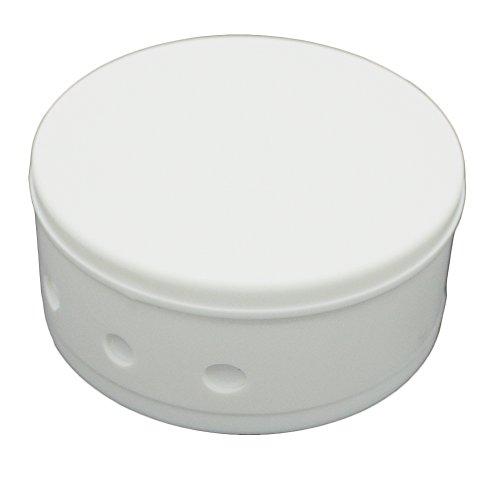 Verteilerdose Weiß Kunststoff mit Zubehör ø 70x31mm Verteilerbaldachin Aufputzdose Anschlussdose