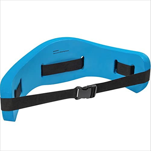 EVEREST FITNESS Schwimmgürtel für Wassersport und Schwimm Training - Schwimmhilfe Gürtel bis 100 kg für Erwachsene & Kinder - Verstellbarer Aquajogging Gurt