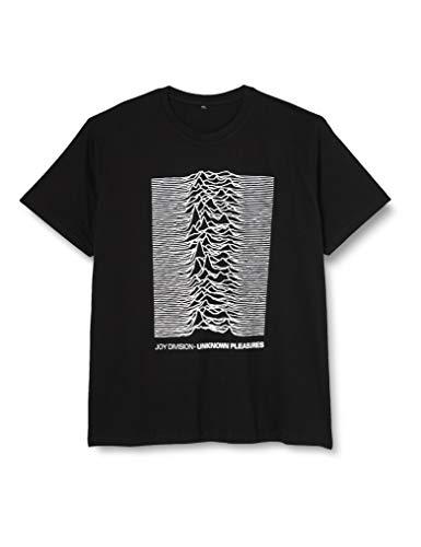 MERCHCODE Joy Divison Up Tee, T-Shirt Uomo, Nero (Black 00007), Medium