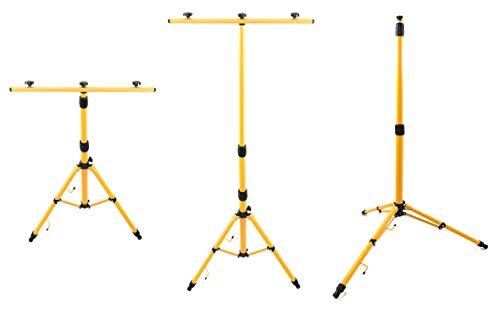 Trango statief voor LED-spots werkschijnwerper bouwlamp TGG1504 enz. in hoogte verstelbaar tussen 66-170 cm