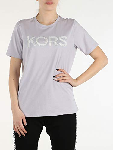 MICHAEL Michael Kors Camiseta de mujer MS05MP197J Lavender Mist Verano 2020 P/E 2020 Lavender M