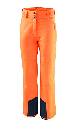 Black Crevice skibroek voor dames, oranje, 38