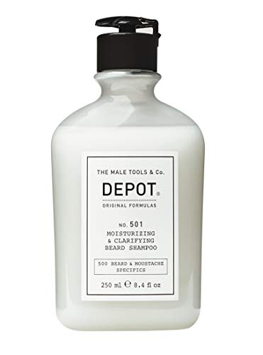 Depot nr. 501 Moisturizing & Clarifying Beard Shampoo.