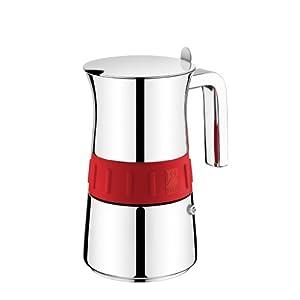 BRA A170559 Cafetera Italiana, 10 Tazas, Gris y Mora: Amazon.es: Hogar
