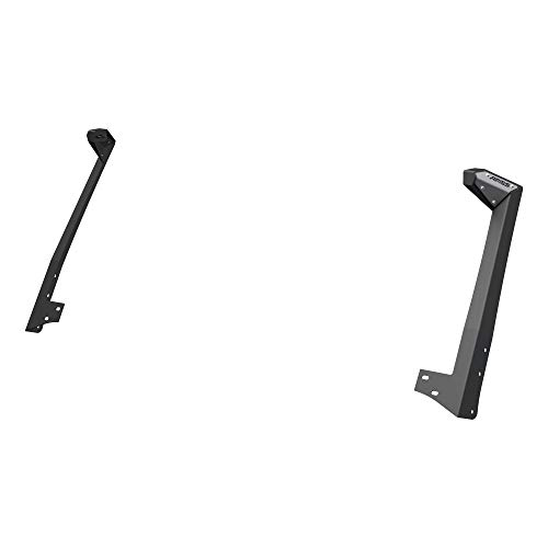 ARIES 15911 Jeep Wrangler JK Roof Light Brackets, LEDs Sold Separately