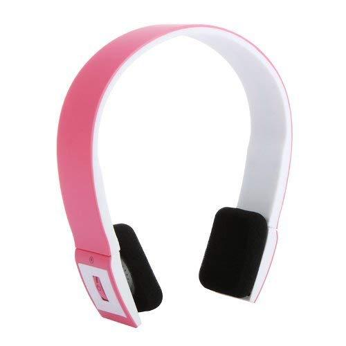 SXXYTCWL Auriculares con Auriculares Bluetooth V3.0 + EDR de Alta Gama con micrófono para iPhone para iPad Tablet Tablet PC Rosa, Rosa jianyou