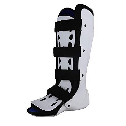 HSRG Soporte Fijo para Tobillo, Soporte para la Pierna - Ortopédico inmovilizador para Dormir Estiramiento de la Bota para espolón del talón, Dolor en el pie, inflamación de Aquiles,leftfoot